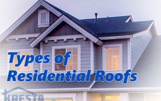 types of roofs for residential homes