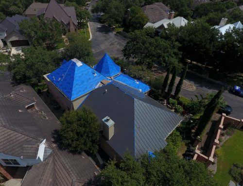 Roof underlayment with Kresta Roofing