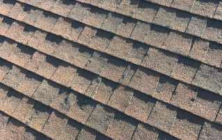 hail roof damage broken shingles Odessa Texas roofers