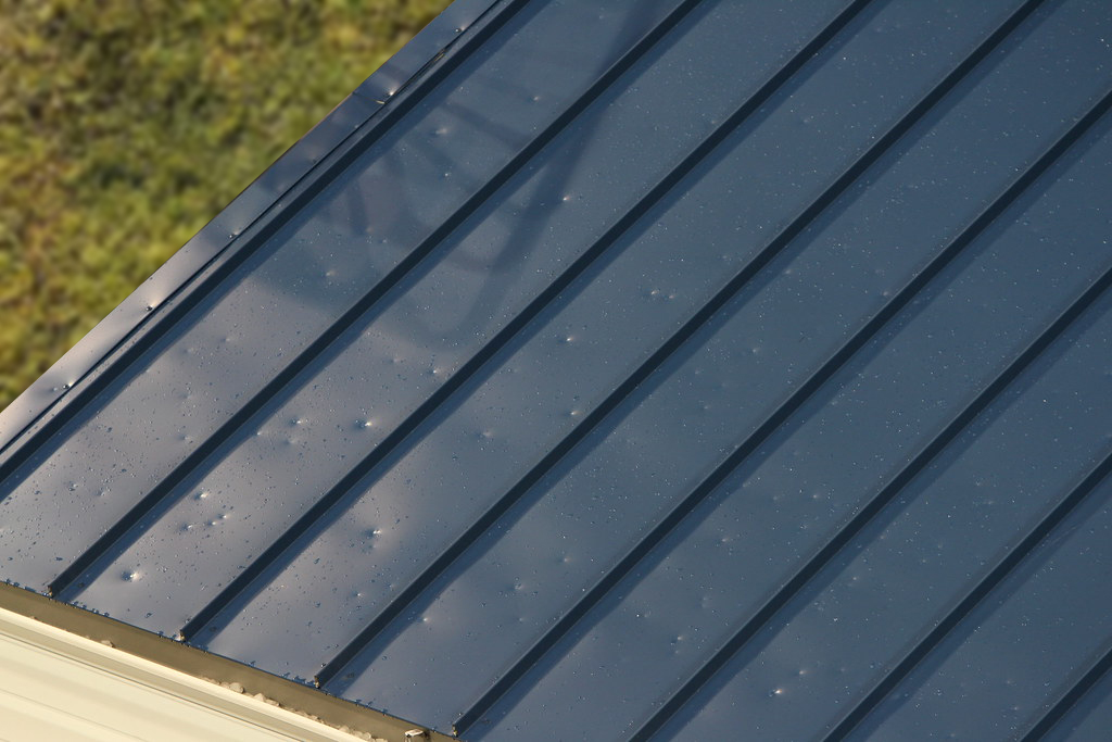 Hail Damage to Metal Roof